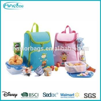 Nouveau Design de garçon et fille isolé feuille doublure sac à Lunch