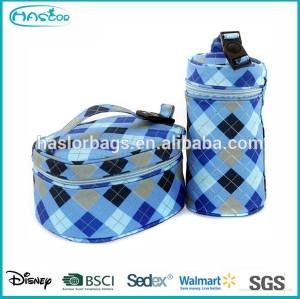 Kids Ice Bag Storage Freezer with Bottle Bag