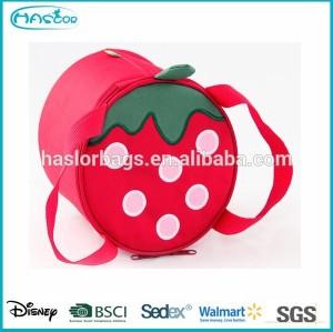 Lovely Strawberry Disposable Cooler Bag for Girls