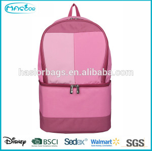 Newest fashion pink cooler backpack for girls