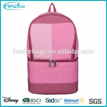 Date mode rose refroidisseur sac à dos pour filles