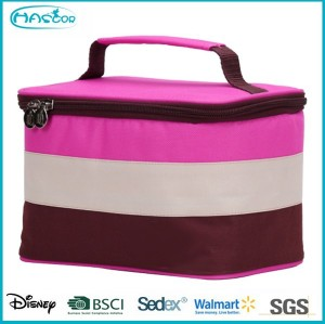 Colorful fashion design ice cream cooler bag for picnic