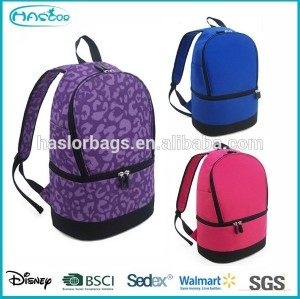 Fashion Backpack Waterproof Cooler Bag for Lady