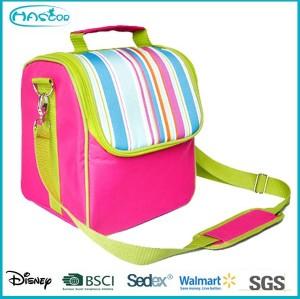 2015 Latest colorful wholesale custom 600d cooler bag for picnic