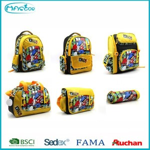 2015 fashion wholesale cheap child school bag