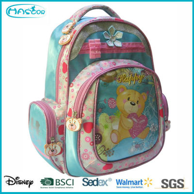 2016 Wholesale Cute Cheap Kids School Bag Backpack for girls