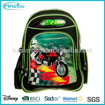 Motif de l'exportation sacs d'école de dernières créations pour les enfants