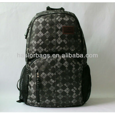 HOT !!! Plaid Fabric Backpack Outdoor Adventure Backpack