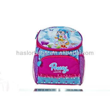 Cartable pour les petites filles utilisé pour aliments entiers sac isotherme