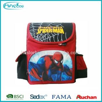Top qualité dernières spiderman sac d'école sac à dos pour les garçons