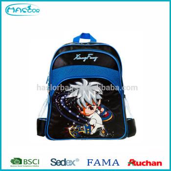 Gros qualité enfants sac d'école pour garçons Anime sac à dos de la chine fabricant
