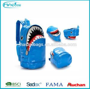 Funny Shark Shape Large School Backpack for Boy