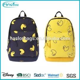 Polyester étudiant sac d'école / sacs à dos mignon pour adolescents
