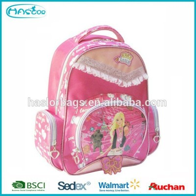 Personalized girl rack sack kids backpack for school