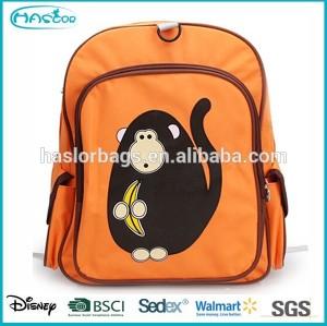 Personnage de dessin animé en gros école à dos sacs pour enfants