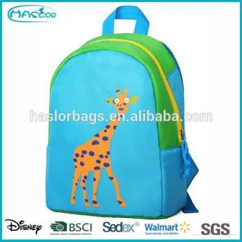 Mode personnalisé sac d'école pour les enfants avec des couleurs