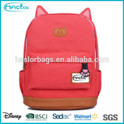 2015 Pink Cute Backpack for High School Girls