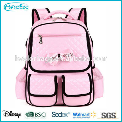 New Arrival PU Fashion Youth School Bag for Girl