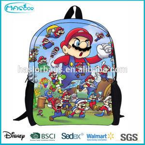 Lovely Cartoon Polo School Backpack for Children