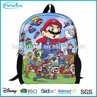 Cartoon Super Mario Bros Bag School for children