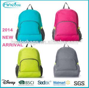 2015 New Style Fold Korean School Bag for High School