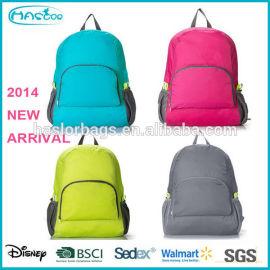 2015 nouveau Style coréen Fold sac d'école pour le lycée
