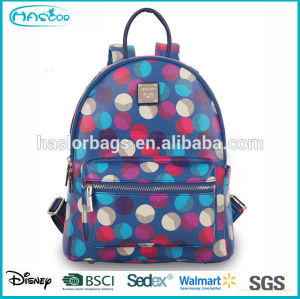 2015 New design and hot style fashion backpack for teenage girls