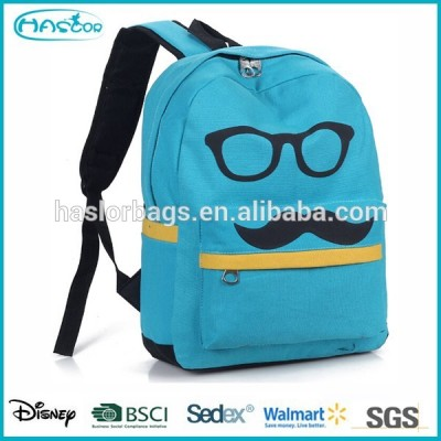 Korean Style Jean Sports Backpack for Teens
