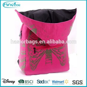 2015 New Design of Fashion Backpack Women with Cap