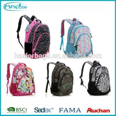 Trendy personnalisés cool sacs à dos importation 2015