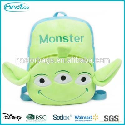 Lovely cartoon monster kids cartoon backpack