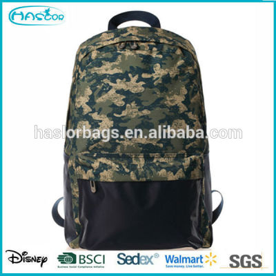Cool style teenage school bags and backpacks with camouflage patten