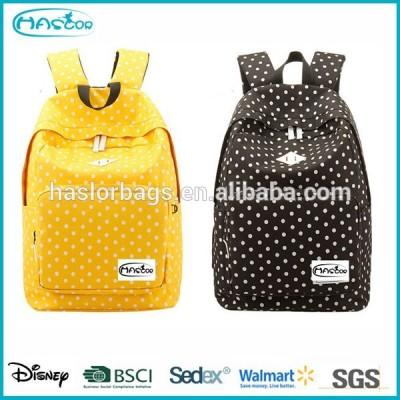 Girl Heavy Duty Canvas Backpack Bag for High School
