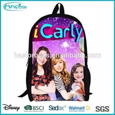 Trendy cheap icarly school backpack for girl