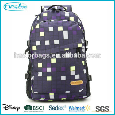 2015 wholesale custom Latest fashion school backpack with high quality