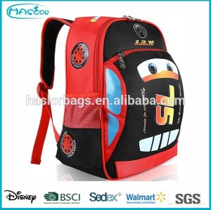 Cars Design School Backpack Bag for Boy