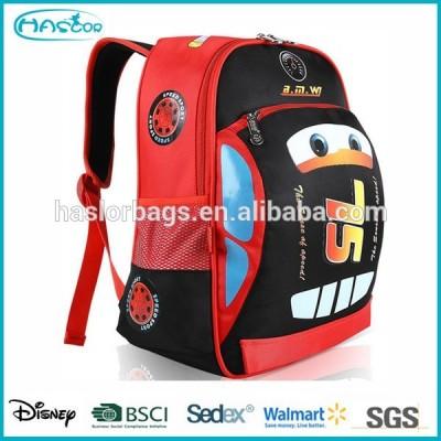 Cars Design School Backpack Bag for Boy