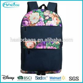 Personnalisé wholeasele hot vente coloré impression haute sacs de livres scolaires pour filles