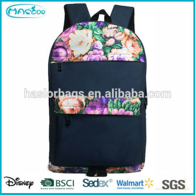 Custom wholeasele hot sale colorful printing high school book bags for girls