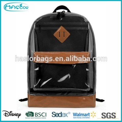Fashion Transparent Plastic Backpack for Teens