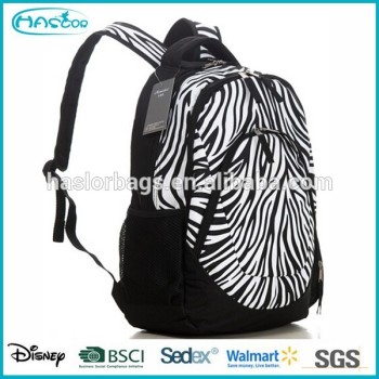 Personnalisé zebra casual sac à dos et racksack