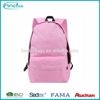 Personnalisée gros rose sacs de livres bon marché pour les étudiants de l'école