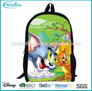 Fashion new tom and jerry school bag