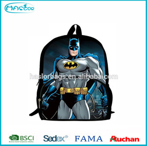 2015 nouveau Design de Batman sac à dos pour adolescente