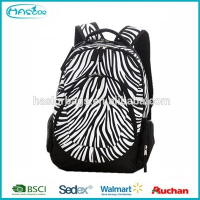 Teens patterned sports backpack, cheap school bags for college students