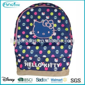 Factory cheap children school bags hello kitty