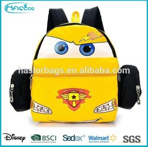 Cute Kids School Bags with Car Design