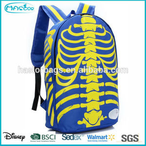 Wholesale fashion custom backpack manufacturer with cool pattern