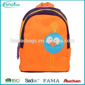 Newest design lovely korean cute canvas backpacks for kids