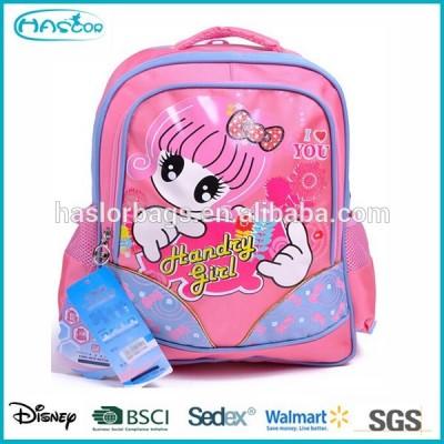 Cute Girl Printing Caddi School Bag for Student